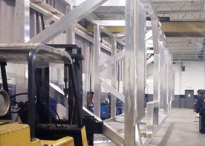 Aluminum Weldment